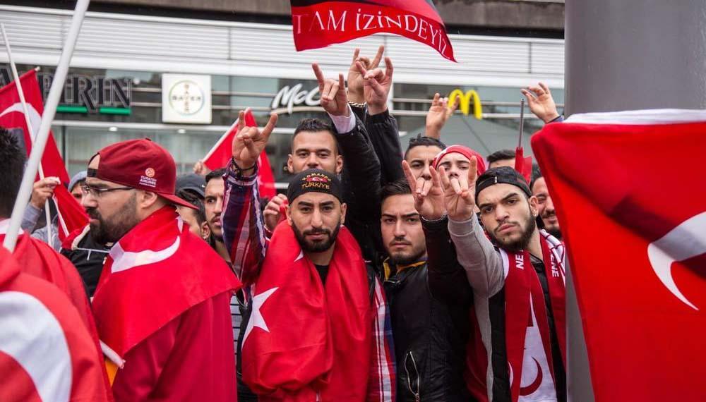 Graue Wölfe, Türkische Rechtsextreme in Deutschland, NPD, ATIB, Zentralrat der Muslime in Deutschland