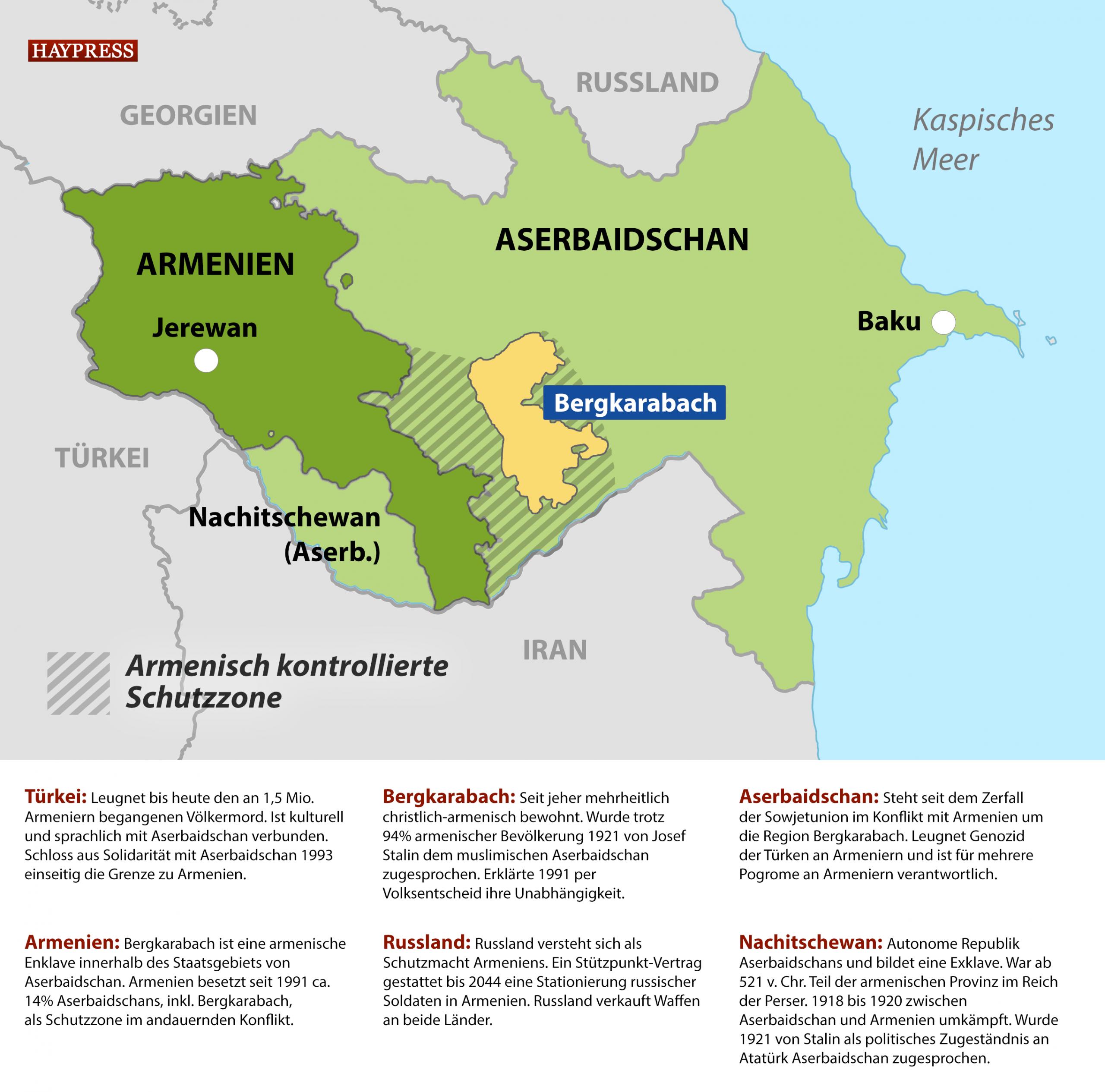 Bergkarabach Warum Das Leben Als Armenier Unter Aliyev Kaum Vorstellbar Ist Haypress